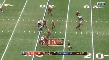 watch: browns' jarvis landry shows off his arm, hits breshad perriman deep on trick play