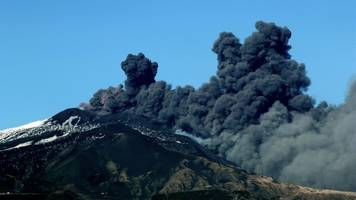 Mount Etna erupts in Sicily amid dozens of tremors