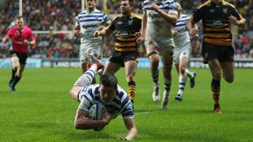 freddie burns: bath fly-half recovers from dark place after man-of-match display