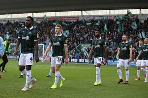 plymouth argyle's christmas day training and travel plans revealed