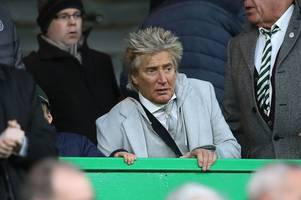 celtic fanatic rod stewart reveals what he really wants this christmas