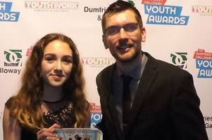 kirkcudbright teenager maisie anderson named dumfries and galloway's young person of the year