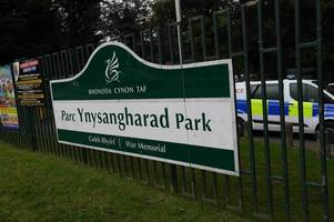 man's body discovered in pontypridd park on christmas eve