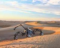 Self-driving rovers tested in Mars-like Morocco