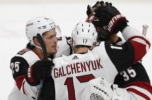 galchenyuk, kuemper lead coyotes past sharks in shootout
