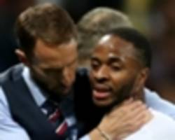 southgate hails sterling for speaking out against racism