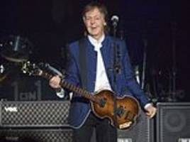 paul mccartney shares christmas message with fans