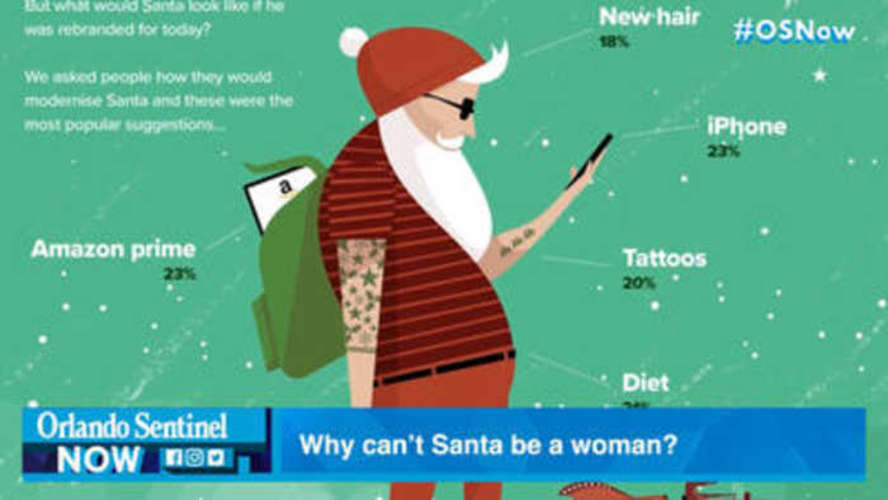 Should Santa Be Gender Neutral? 25% in a Recent Poll Say 'Yes'