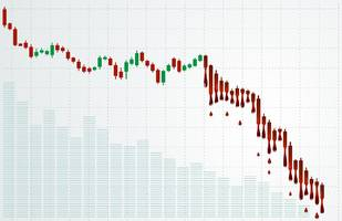 cryptocurrency markets bleeding – double digits losses across the board