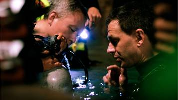 thai cave rescue: the cave film shares behind-the-scenes shots
