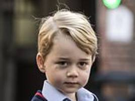 will william and kate shun eton for prince george?