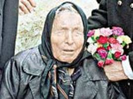 Blind mystic who 'predicted' 9/11 and Brexit says 2019 is bad news for Putin, Trump and Europe