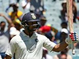 India in charge on first day of Boxing Day Test in Australia