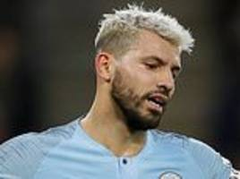 sergio aguero looked rusty and not a natural leader for manchester city