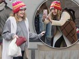 drew barrymore takes fun snaps of her children during festive trip to florence