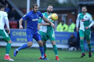 argyle player ratings as yann songo'o mistake proves costly in defeat by afc wimbledon