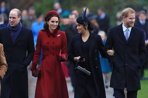 meghan markle and kate middleton all smiles amid rift rumours at royal christmas service