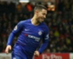 video: 100 goal hazard can play anywhere - sarri