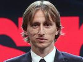 luka modric sees off novak djokovic to be named balkan athlete of the year