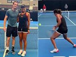 Naomi Osaka pleased to share court with Andy Murray ahead of Brisbane international