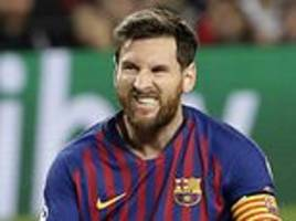 'i knew i would not be in the fight': messi on ballon d'or snub