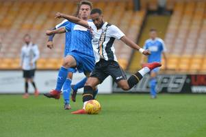 brendon daniels' wonder-goal as three port vale players feature in telford v nuneaton borough