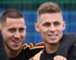 how thorgan hazard is stepping out of his brother's shadow as he matches eden goal for goal