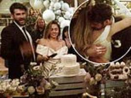 billy ray cyrus shares more precious moments from daughter miley's wedding to liam hemsworth