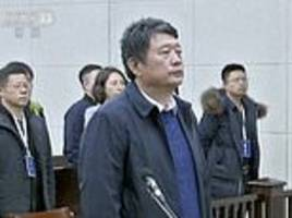 china jails for life former top secret police official