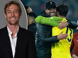 peter crouch: manchester city have one final chance to halt liverpool's surge to the title