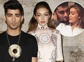 gigi hadid and on-off beau zayn malik spark split  rumors once again