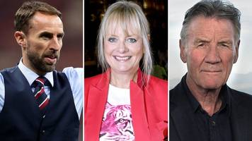 new year honours 2019: twiggy, michael palin and gareth southgate on list