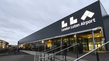 luton airport: man arrested over terrorism offences