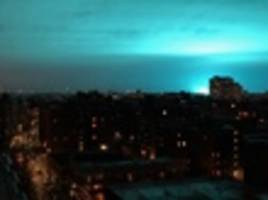 breaking: transformer explosion in astoria lights up night sky, shuts down laguardia
