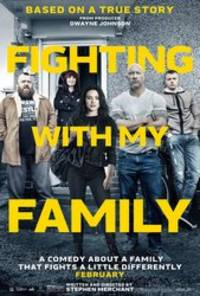 fighting with my family - cast: the rock, lena headey, nick frost, vince vaughn, florence pugh, jack lowden