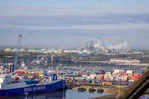 we climbed to the top of the tallest crane at the port of immingham - and the view is amazing