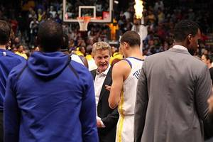 warriors show little, late fight in odd overtime loss to portland trailblazers
