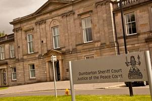 bonhill drug trafficker in court after heroin drug raid