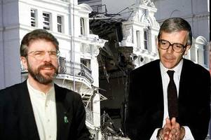 british fury at bill clinton over 'murderer' gerry adams' trip to usa revealed