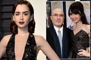 les miserables' lily collins opens up about bulimia battle and superstar dad phil