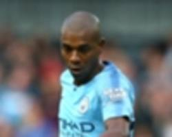 guardiola confirms 'incredible' fernandinho could return for southampton game