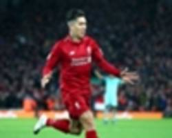liverpool 5 arsenal 1: reds go nine points clear as firmino hat-trick inspires rout