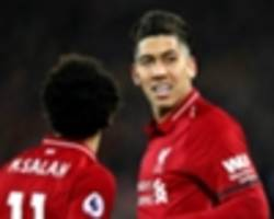 'i almost cried!' - klopp moved by salah allowing firmino to complete hat-trick