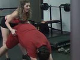 to catch a cheater girlfriend calls her partner a 'pig' after he flirts with fitness instructor