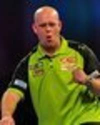 world darts championship results live: gary anderson and michael van gerwen into quarters