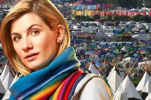 doctor who star jodie whittaker hopes new fame will land her a vip glastonbury pass