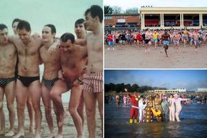 how a joke between friends ended up turning into one of wales' biggest new year's day swims