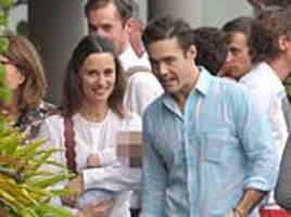 pippa middleton strolls the streets of ultra-rich enclave st barts