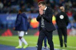 claude puel's catch-22 over leicester city team selection in cardiff defeat