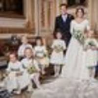 can you spot the bizarre item held by a flower girl in official royal wedding photo?